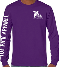 Load image into Gallery viewer, Toe Pick Long Sleeve T-Shirt