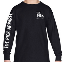 Load image into Gallery viewer, Toe Pick Long Sleeve T-Shirt Youth