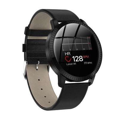 Smart Watch Blood Pressure Oxygen Fitness Tracker--Free Shipping CoolThingsPro Black