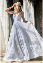 Ball gown with glitter finish and sweetheart neckline - KC Haute Couture Wedding Dress