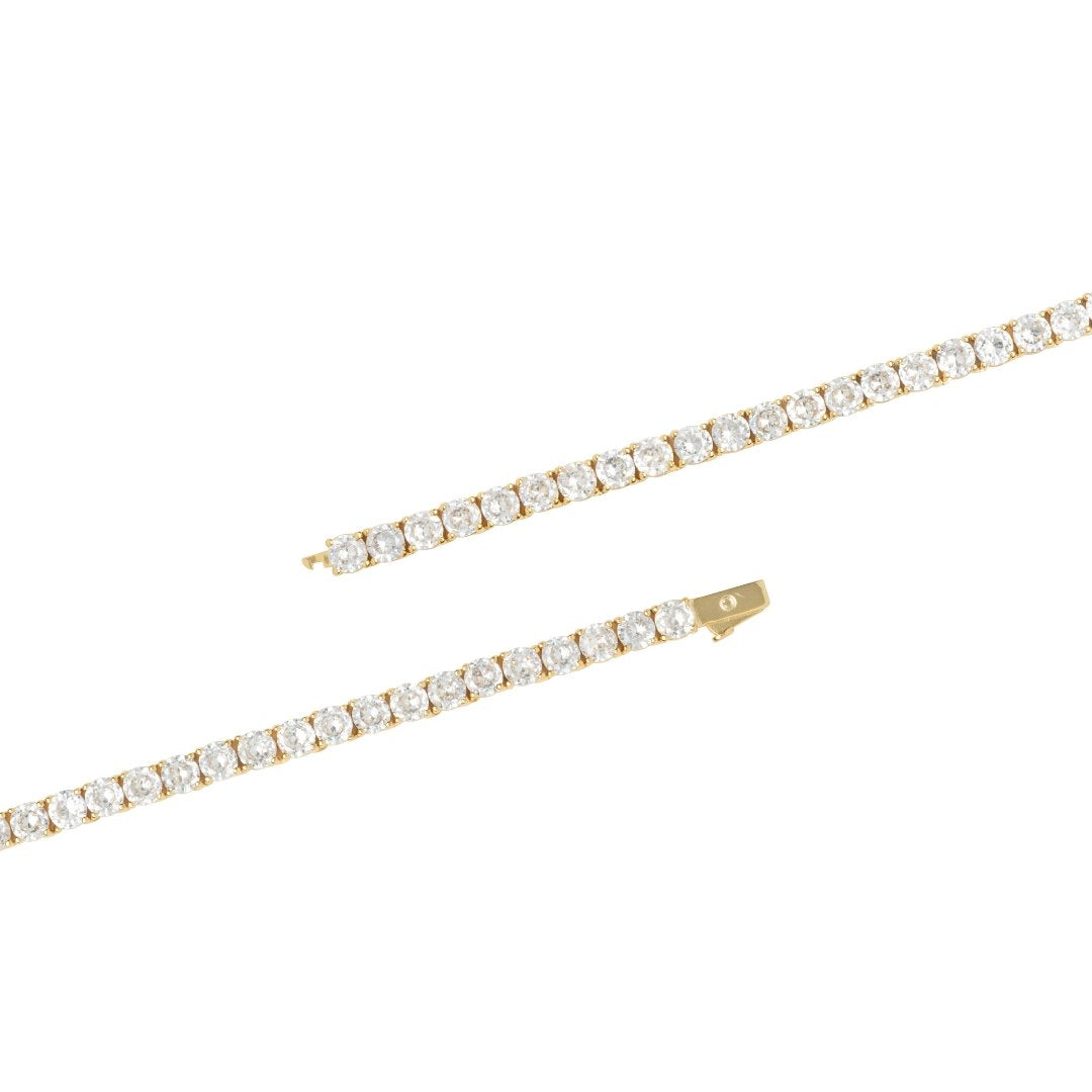 5mm Tennis Chain Bundle - Gold - IceTheGang
