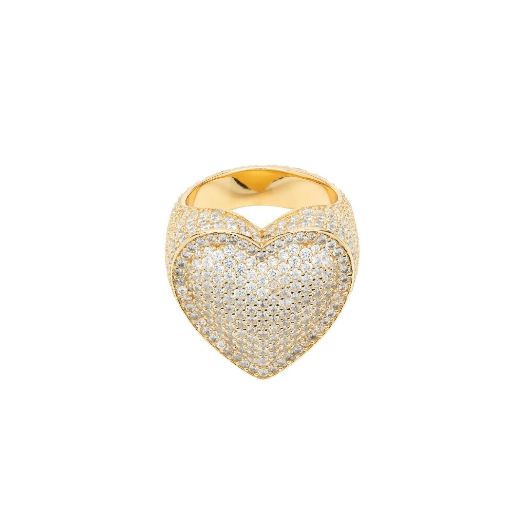 Heart Ring - Gold - IceTheGang