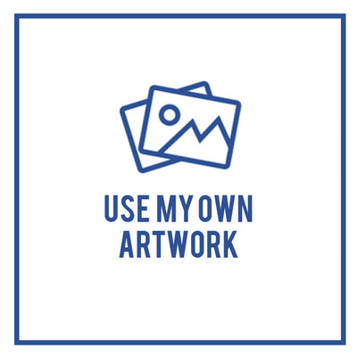 Custom label (upload your own artwork)