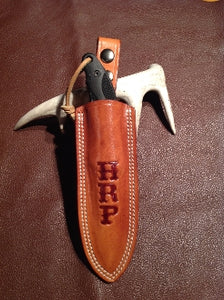 Dangler Leather Knife Sheath