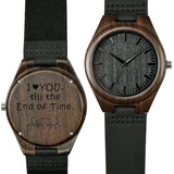 Shifenmei Watches Men Wooden Engraving Wristwatch Quality Special Family Gifts Customize Your Logo Male Watches Relojes Hombre