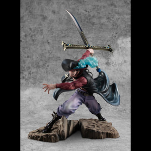 Portrait. Of. Pirates One Piece Neo-Maximum Hawk-Eye Dracule Mihawk Figure Limited