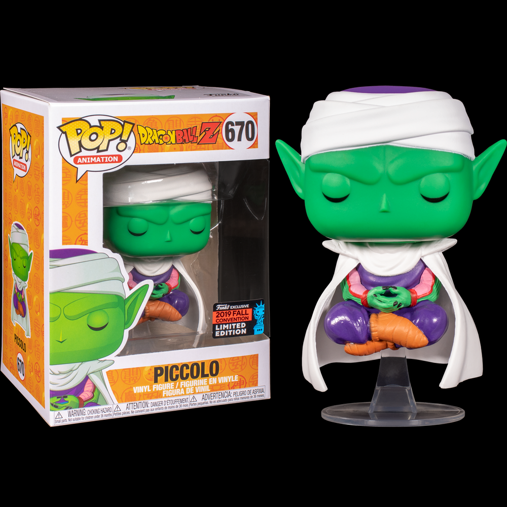 Funko Pop Dragon Ball Z - Piccolo Lotus Pop! NY19 Figure