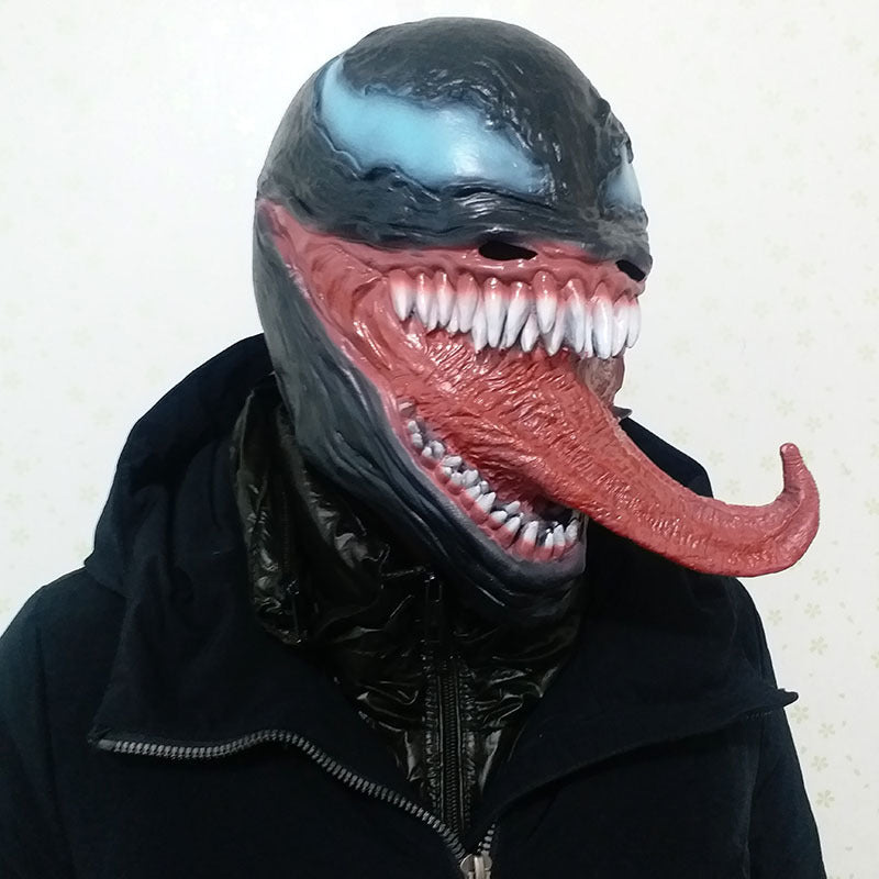 Mask - Venom mask Marvel Avengers Funny adult costume - Halloween costume