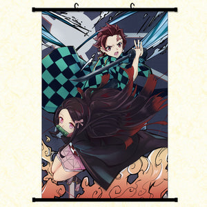 Wall Scroll - Demon Slayer