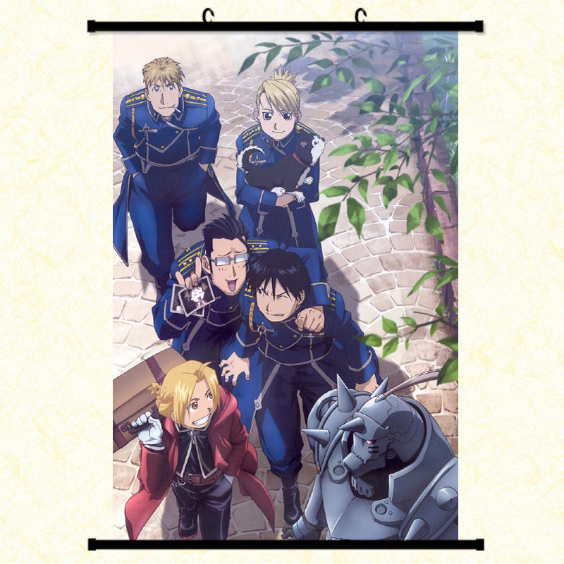 Wall Scroll - Fullmetal Alchemist