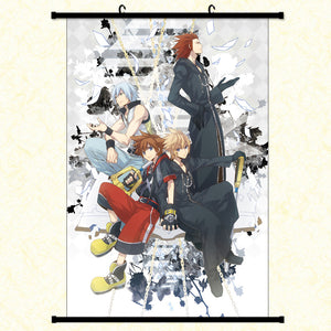 Wall Scroll - Kingdom Hearts