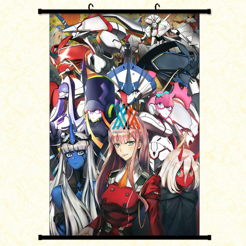 Wall Scroll - Darling In the Franxx