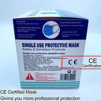50 Pieces Protective Surgical/Medical Masks three layers of protection