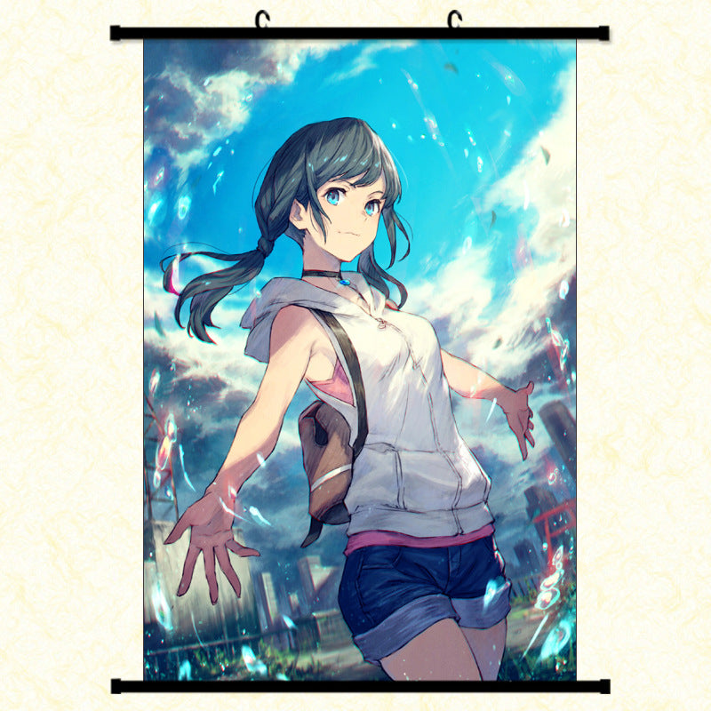 Wall Scroll - Weathering with You