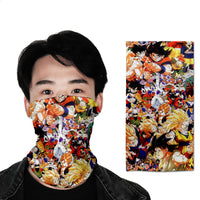 Dragon Ball Full Face Mask Neck Cover 5 different styles to choose
