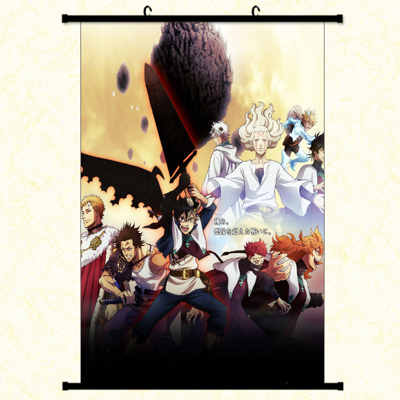 WALL SCROLL - BLACK CLOVER