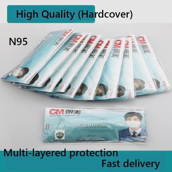 Highest protection MASK - 10 X KN90 Mask CE Certification Mouth Face Mask