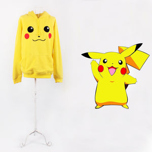 Pokemon Pikachu Casual Sweatshirt Jumper Hoodie Clothes Unisex