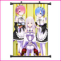 Wall Scroll - Re Zero