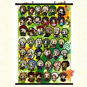 Wall Scroll - HETALIA