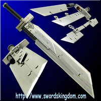 "7PCS Metal Final Fantasy VII - Cloud Strife's Fusion ""Buster Sword"""