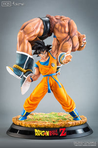 Tusme Made Official GK Resin Figure - Dragon Ball Z Son Goku Lift Nappa GK Resin Statue