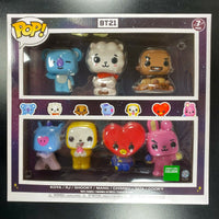Kpop Funko Pop BT21 - Pop! 7Pk Figure
