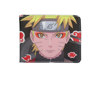 Anime Naruto Short Wallet Purse Coin Cash Holder