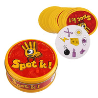 Board game spot it find it funny card game