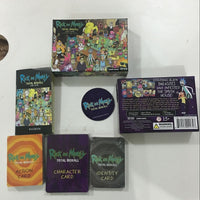 Rick and Morty Decompression Game Total Rickall Best Board Game