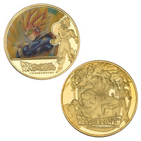 Dragon Ball Z Super Gold Plated Commemorative Coins