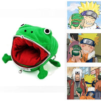 NARUTO Accessories Uzumaki Frog Shape Wallet Coin Purse
