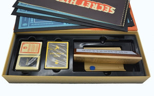 Secret Hitler Board Game The Social Deduction Game Large/Red/Yellow Box Edition