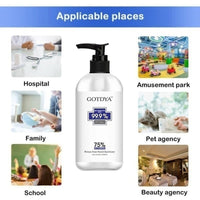 300ml Hand Sanitizer No Washing 75% Alcohol Hand Sanitizer Advanced Antibacterial Hand Sanitizer Gel mask