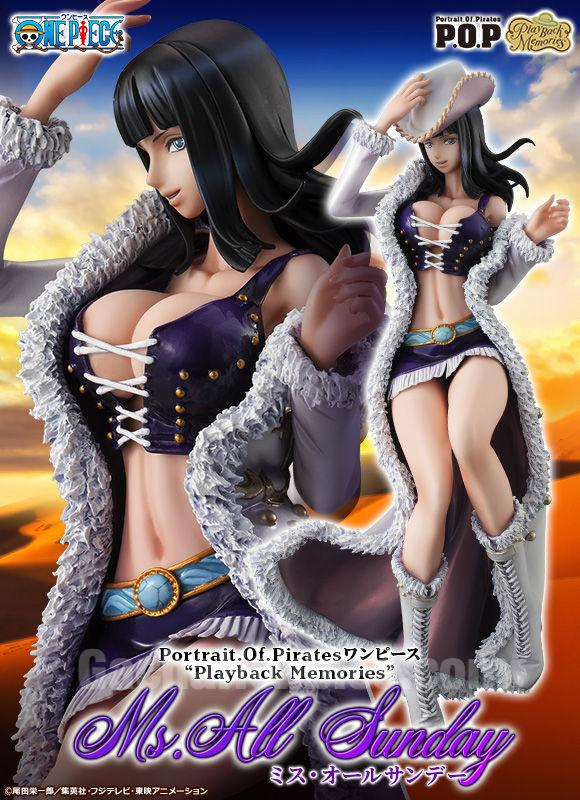"Portrait.Of.Pirates one piece ""playback memories"" Nico Robin Miss All Sunday Ver. Limited  Figure"