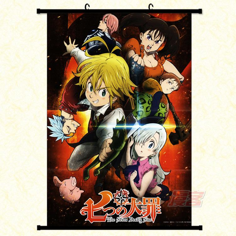 Wall Scroll - Seven Deadly Sins