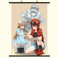 Wall Scroll - Cells at Work