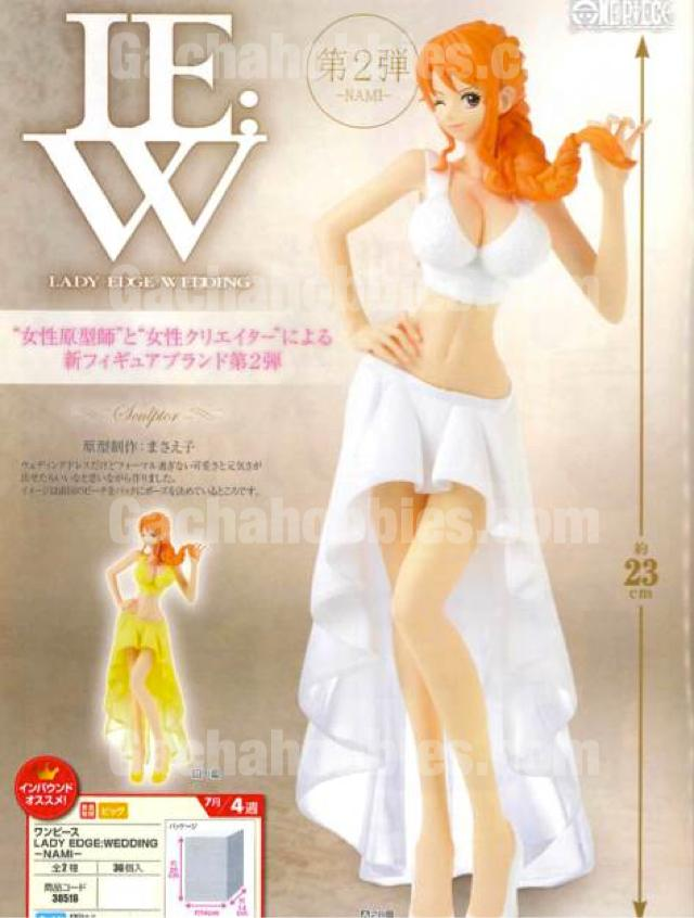 One Piece Lady Edge Wedding Nami Figure