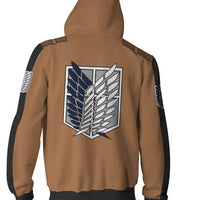 Attack On Titan Wings of Freedom Hoodie Jumper Clothes