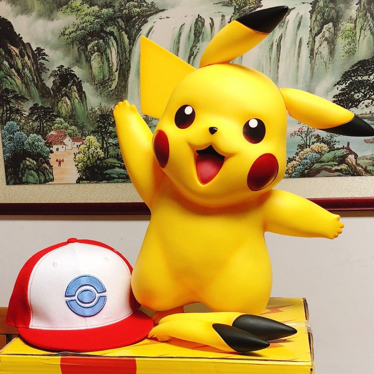Life Size Pikachu Pokemon Figure Resin Figure 1:1