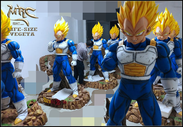 GK Resin Figure [MRC] Life Size vegeta, vegeta bust Figure Dragon Ball