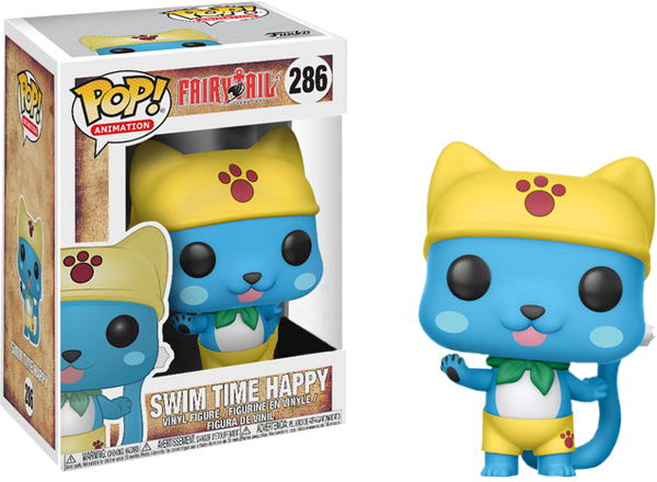 Fairy Tail - Happy (Swim Time) Pop! Vinyl Figure (RS)