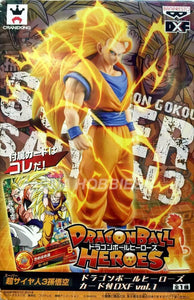 Dragon ball Figure Heroes Super Saiyan 3 Son Gokou