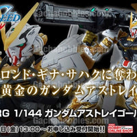 RG 1/144 Gundam Seed Astray Gold Flame Limited