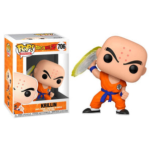 Funko Pop Dragon Ball Z - Krillin w/Destructo Disc Pop! Figure