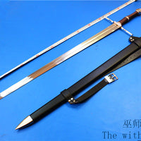 Metal Swords The Witcher 3: Wild Hunt Geralt of Rivia ame perimeter Cosplay steel Sword