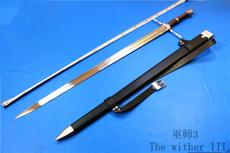 Swords The Witcher 3: Wild Hunt Geralt of Rivia ame perimeter Cosplay steel Sword