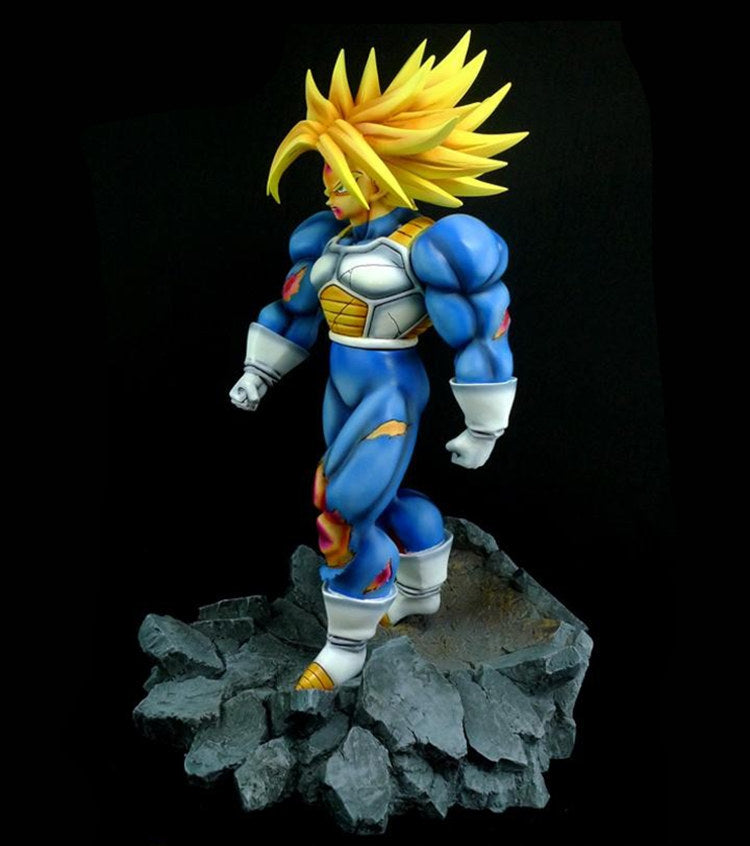 Resin Figure - Dragon Ball Z Super Saiyan Third Grade Future Trunks Combat version GK Action Figure Resin Statue Collection model