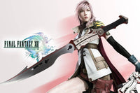 Metal Sword - Samurai Eclair  Farron Lightning's Sword Finally Fantasy XIII