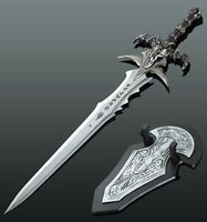 WOW World of warcraft Lich King grief of frost Cosplay Stainless steel